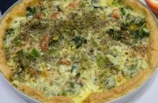 Pizza de Ovo sem Glúten Vitor Belfort