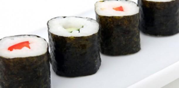 receita arroz para sushi