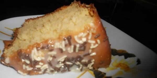 receita bolo de leite condensado