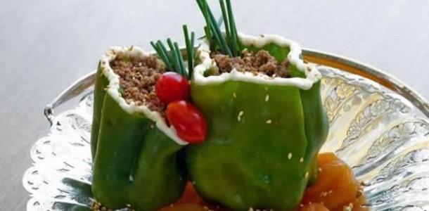 receita pimentão recheado com carne moída