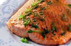 receita salmão assado