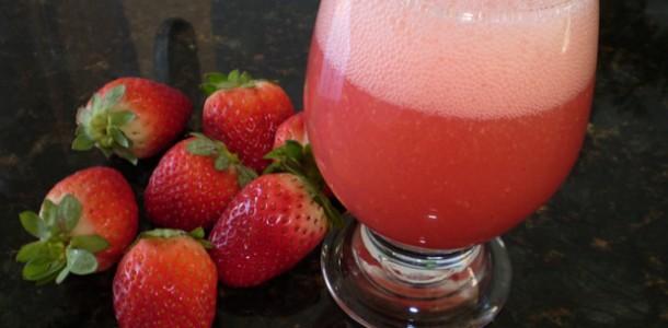 receita suco para emagrecer
