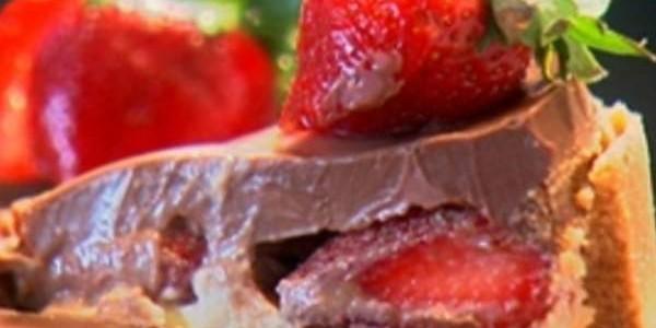 Receita Torta de chocolate com biscoito