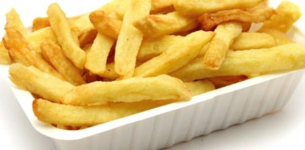 receita batata frita sequinha