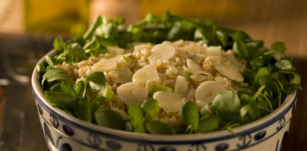 receita salada light de trigo