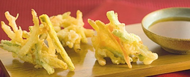 receita tempurá de legumes