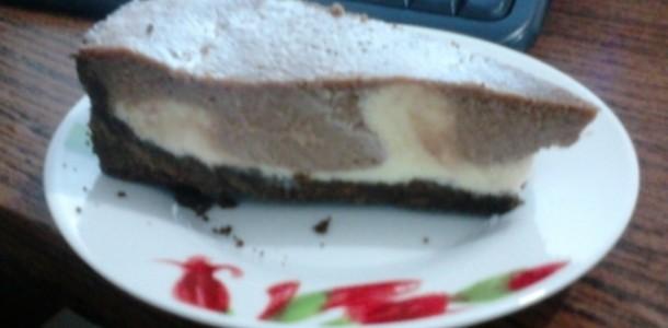 Receita Torta Mousse de Limão e Brigadeiro
