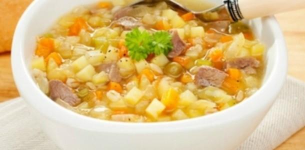 Sopa Legumes, Macarrão e Carne