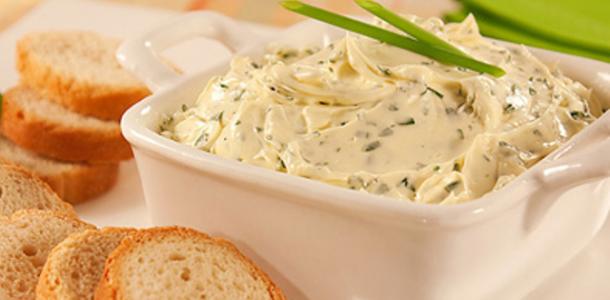 receita aperitivo pasta de ervas finas light