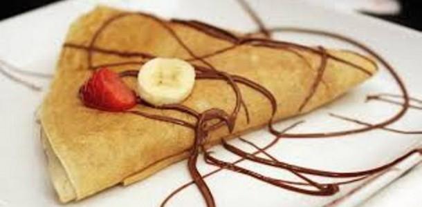 Crepe Avelã e Banana