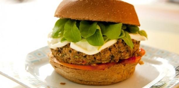 receita hambúrguer vegetariano