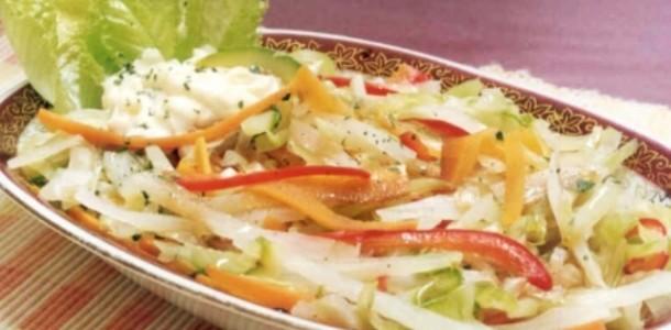 receita legumes orientais cozidos no vapor