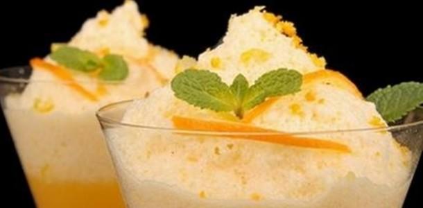 receita mousse laranja