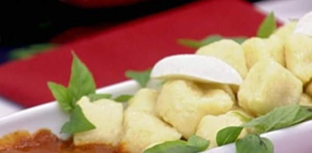 nhoque polenta fácil