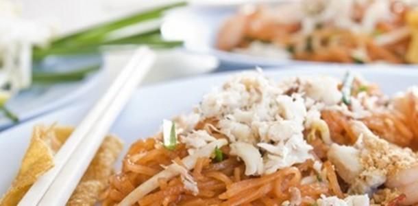receita pad thai noodle