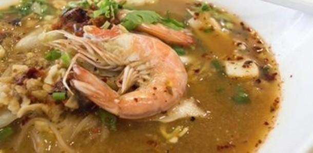 receita caldo camarão