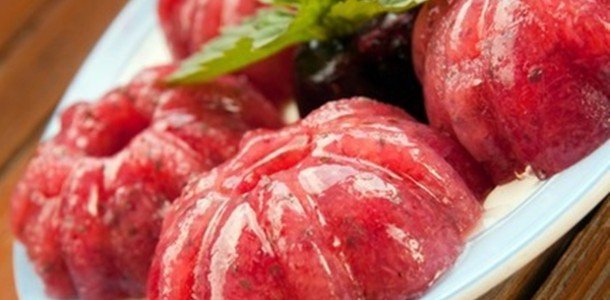 receita gelatina melancia