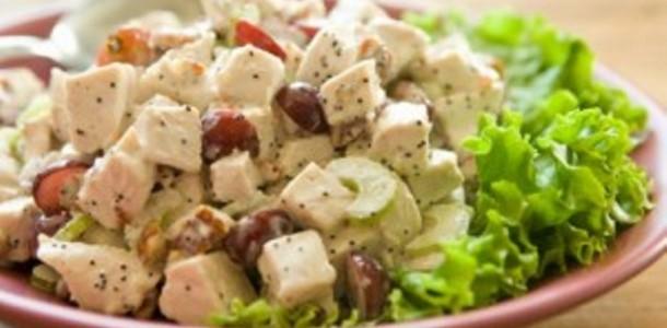 Salada de Chester com UvasSalada de Chester com Uvas