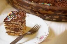 Torta de Bolacha Fácil