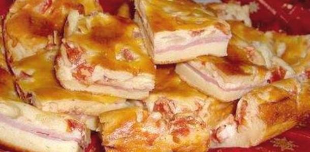 Torta Presunto e Queijo