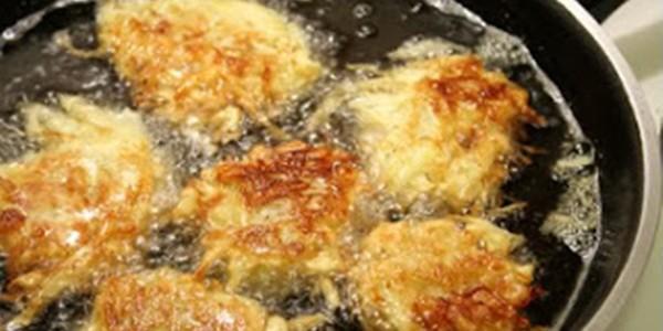 receita batata frita recheada
