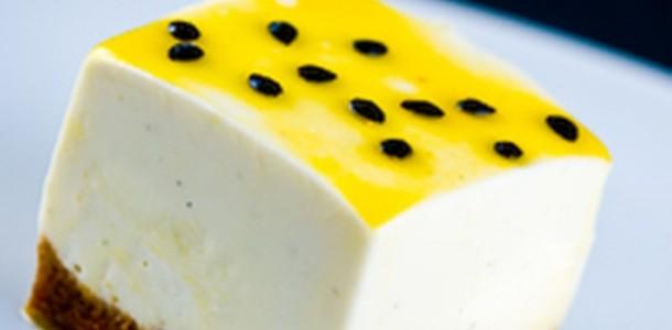 receita cheesecake de maracujá
