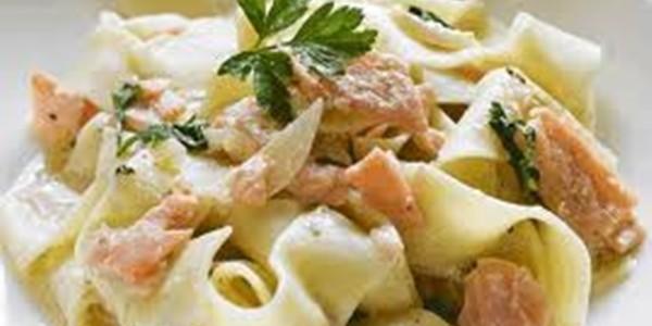 receita massa de salmão