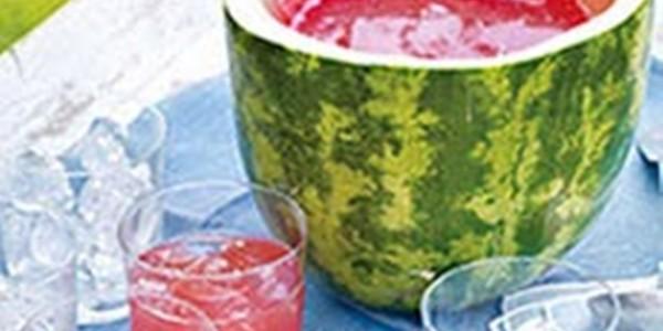 receita ponche de melancia