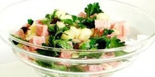receita salada de tender para ceia