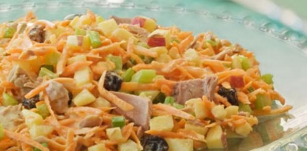 Salada Salpicão de Frango