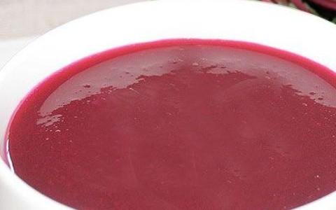 Receita Sopa de Beterraba