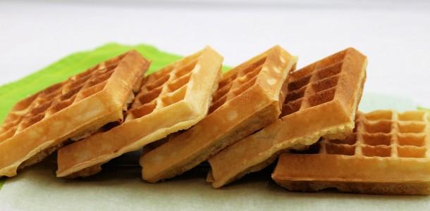 receita waffles práticos