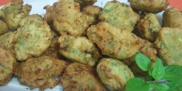 receita bolinhos de talo de brócolis