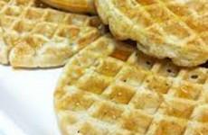 receita waffle light