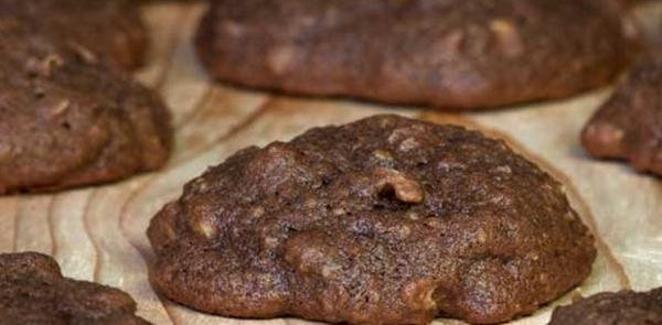 receita biscoito de chocolate com banana