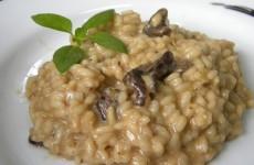 receita risoto de funghi cremoso