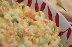receita salada de maionese com camarão