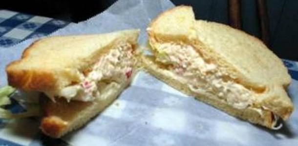 Sanduiche de Frango com Maionese