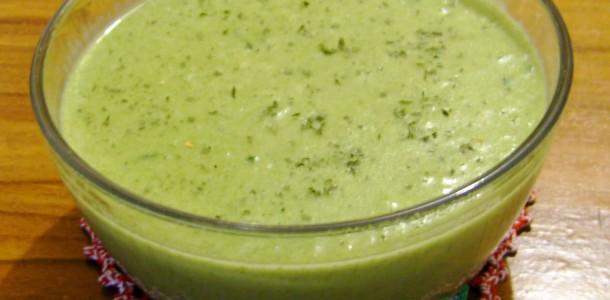 receita sopa de agrião