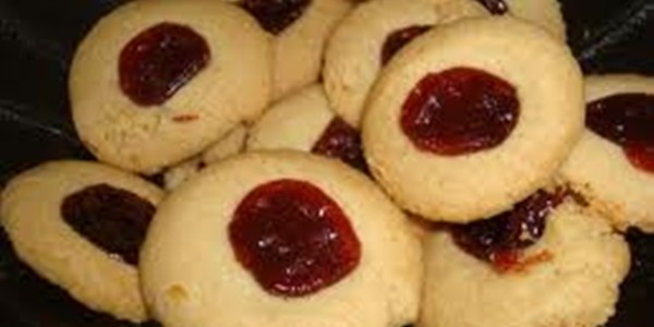receita biscoito com geleia