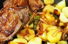 receita carne ao molho barbecue