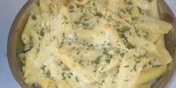 receita macarrão ao molho queijo
