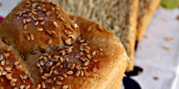 receita pão semi integral