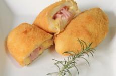 receita risoles de presunto e queijo