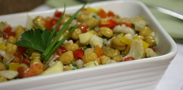 receita salada de bacalhau
