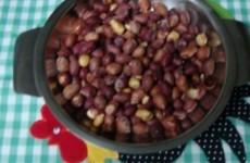receita amendoim torrado salgado de microondas