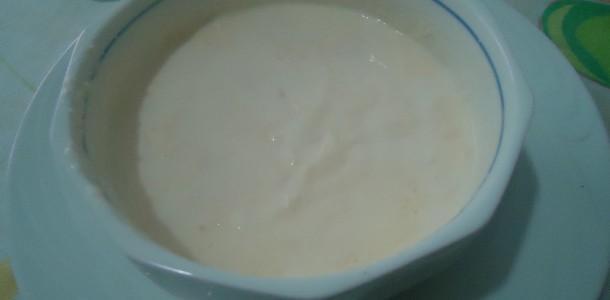 receita molho branco de microondas