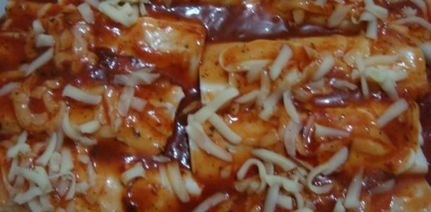 Lasanha de Abóbora com Carne Seca