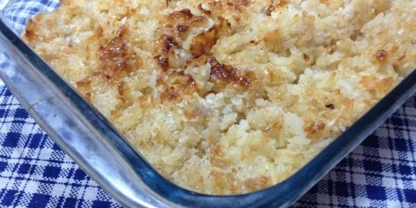 receita arroz condensado festa junina