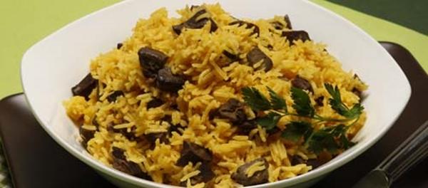 receita arroz de miúdos